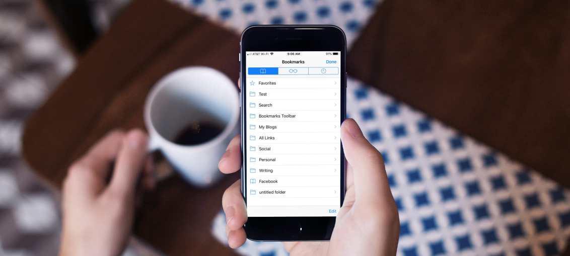 Safari-Bookmarks-on-iPhone