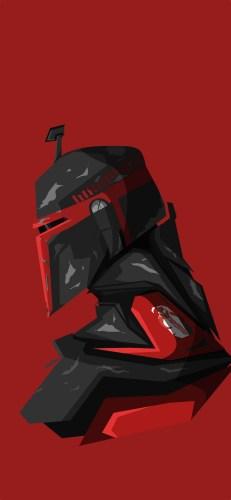 Disney-Star-Wars-Mandalorian-iPhone-Wallpaper-Boss-Logic-Red