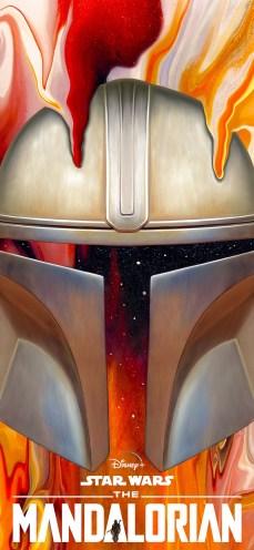 Disney-Star-Wars-Mandalorian-iPhone-Wallpaper-paint-nickybarkla