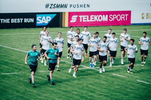 SAP introducerer innovativ teknologi der skal optimere det tyske fodboldlandsholds præstationer