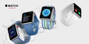 Apple Watch Series 3 med indbygget mobilforbindelse kan nu købes hos 3 1