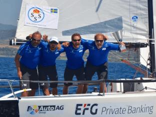 Udvid Sailing Team vinder EM jeg klubbracing 1