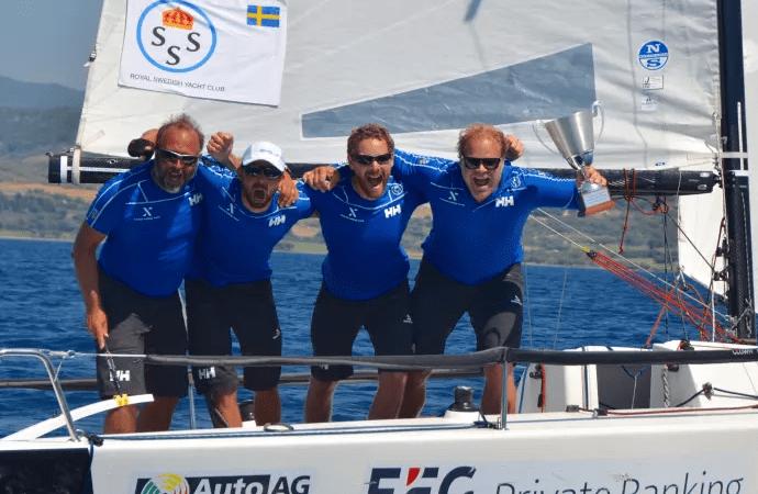Udvid Sailing Team vinder EM jeg klubbracing