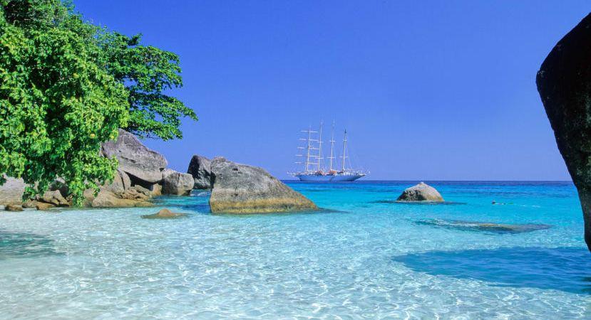 Verdens fem bedste strande- Oplev dem med Star Clippers