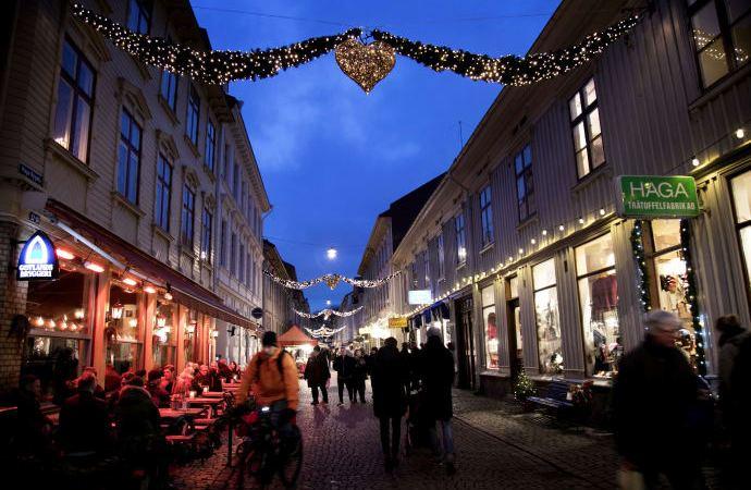 Det kimer til julefest i Sverige