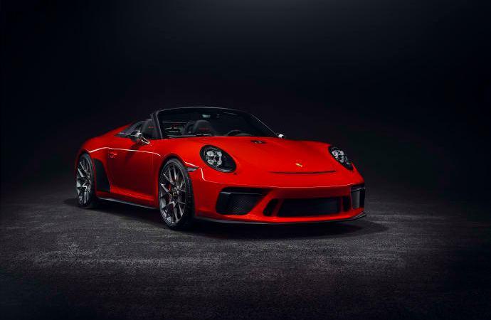 Porsche 911 Speedster sættes i serieproduktion