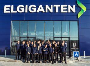 Stor åbningsfest i den nye Elgiganten i Roskilde 1