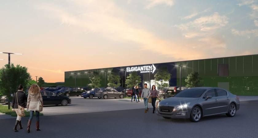 Danmarks største Elgiganten åbner i Skejby på fredag d. 16. november