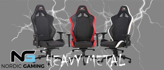 Nordic Gaming Heavy Metal: Danmarks første XXL gamer stol
