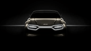 KIA sætter strøm til Geneve med ny elektrisk konceptbil 1