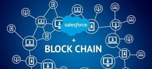 , Salesforce lancerer den første low-code blockchain platform til CRM