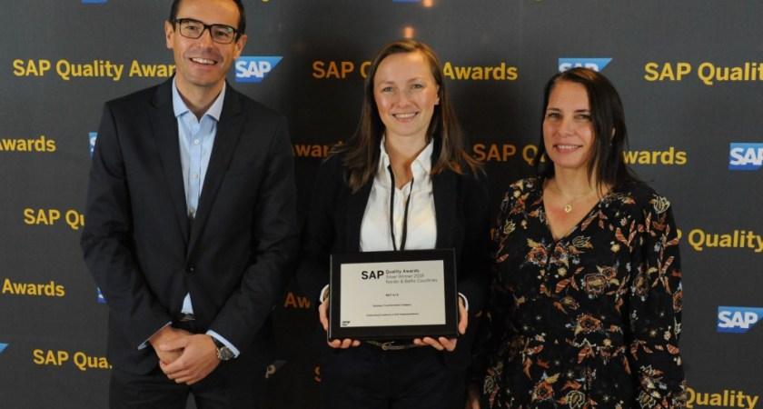 2 danske vindere ved SAP Nordic Quality Awards 2019
