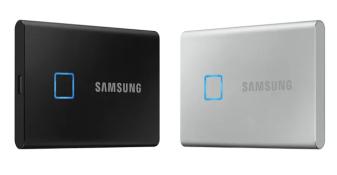 Samsung lancerer Portable SSD T7 Touch, der sætter ny hastighed og sikkerhedsstandard for eksterne lagringsenheder 1