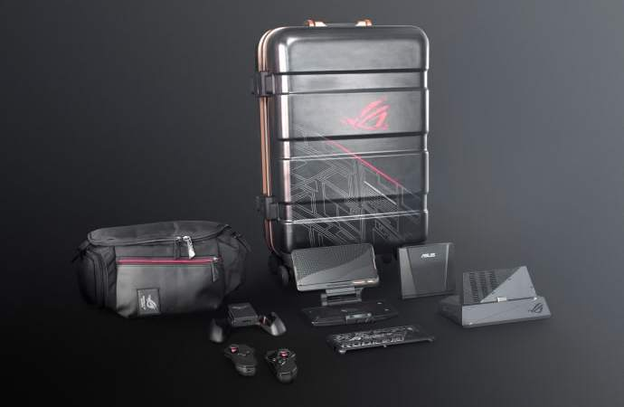 "ASUS ROG Phone II suitcase the ""Super Pack"" now available in Denmark"