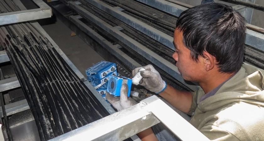 Effektiv jording, som sikrer EMI- og lynnedslagsbeskyttelse