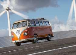 Volkswagen Erhvervsbiler sætter strøm til fortiden