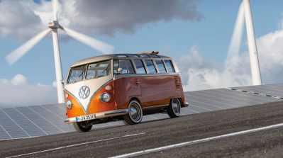 Volkswagen Erhvervsbiler sætter strøm til fortiden 1
