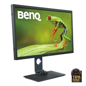 BenQ PhotoVue SW321C Photographer Monitor udnævnt til bedste professionelle monitor til fotografer 2020 af TIPA 1