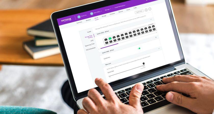 Prøv branchens mest avancerede cloud-baserede management-løsning med et års gratis Insight cloud-abonnement med NETGEAR