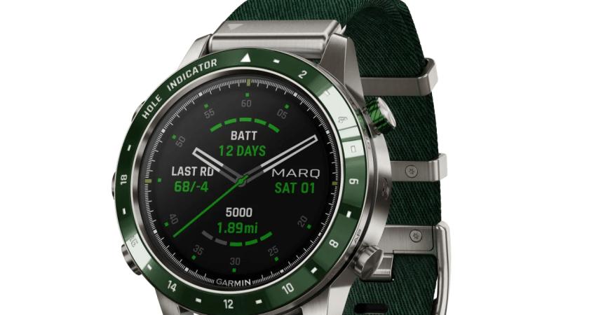 Garmin® annoncerer MARQ® Golfer, det moderne toolwatch som scorer både på og uden for banen