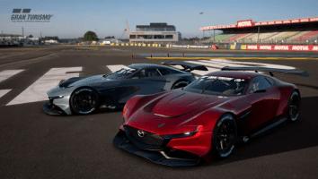 Prøvekør en Mazda RX-Vision GT3 Concept 1