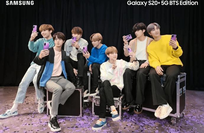 I Purple You: Samsung udgiver nu BTS Edition på det nordiske marked