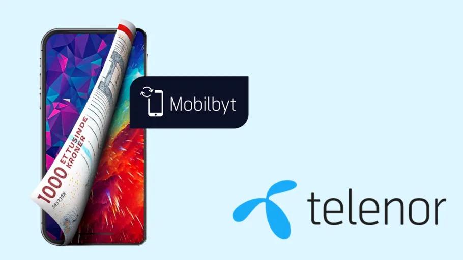 Få penge for din gamle mobil hos Telenor