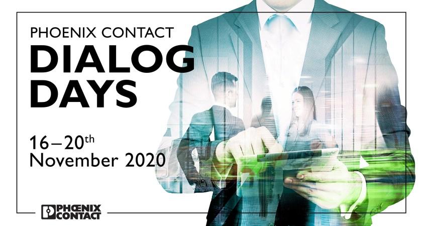 For 2. gang: Phoenix Contact Dialog Days – innovationer og teknologiske trends online