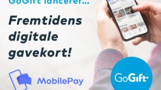 MobilePay og GoGift lancerer fremtidens gavekort