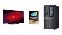 LG tager flere priser ved 2021 CES Innovation Awards