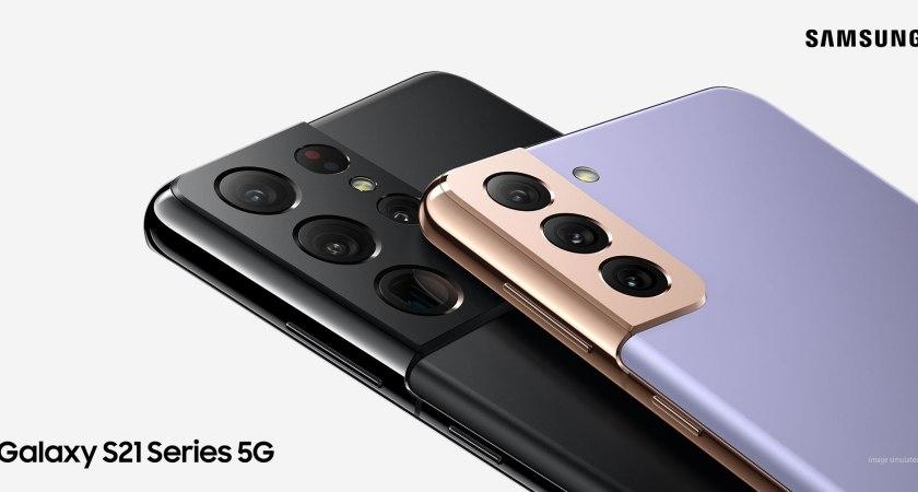 Samsung S21-serien kan nu købes hos 3