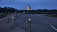 Ved vestjysk naturarena går lyset i ét med omgivelserne