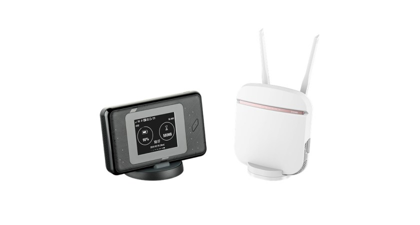 D-Link banebrydende i 5G-segment med to nye routere – en bærbar og en stationær