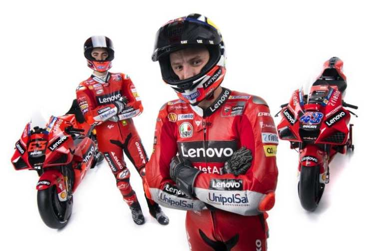 Lenovo becomes name partner for Ducati