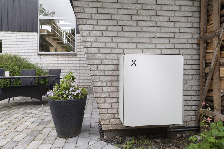 Batteri til lagring af strøm fra solceller