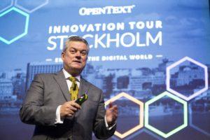 OpenText Innovation Tour – en plats där den digitala revolutionens möjligheter lyfts fram 1