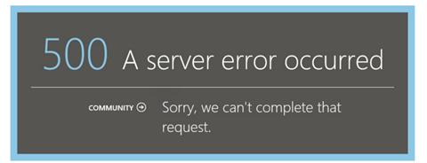 Error 500 in Azure Pack when using ADFS