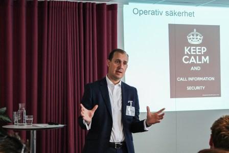 Fredrik Ohlsson, säkerhets- och operativ riskchef på SBAB