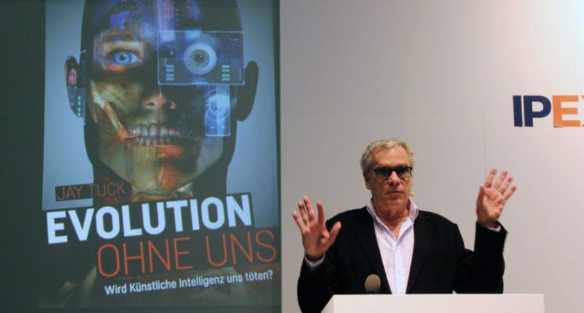 Talare på IP Expo – Robotarna tar över
