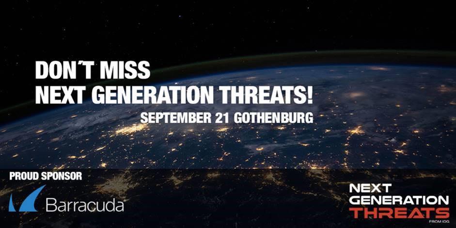 Next Generation Threats Göteborg 21 september 1