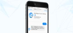 KLM välkomnar BlueBot (BB) till familjen 1