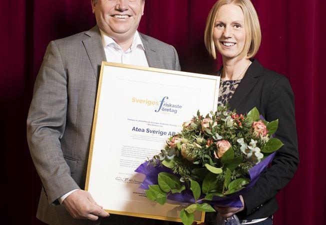 Atea är Stockholms läns friskaste företag