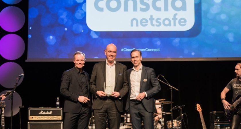 Conscia Netsafe Årets Cisco kompetenspartner  – först i Norden med realtidsanalys