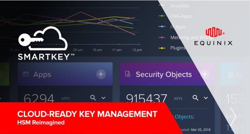 Equinix utökar sin globala plattform med molntjänst för hantering av krypteringsnycklar