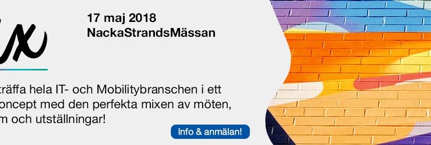 """Välkommen till vårt återförsäljarevent """"The mix"""" på Nacka Strandmässan"""