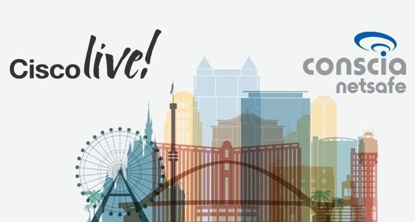 Följ Conscia Netsafe till Cisco Live Orlando