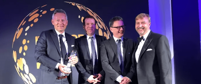 SUNE vann – Unit4 och Stockholms stad prisade i European IT & Software Excellence Awards