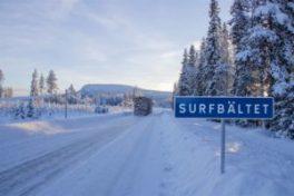 Här surfas det mest i Sverige – välkommen till Surfbältet 1