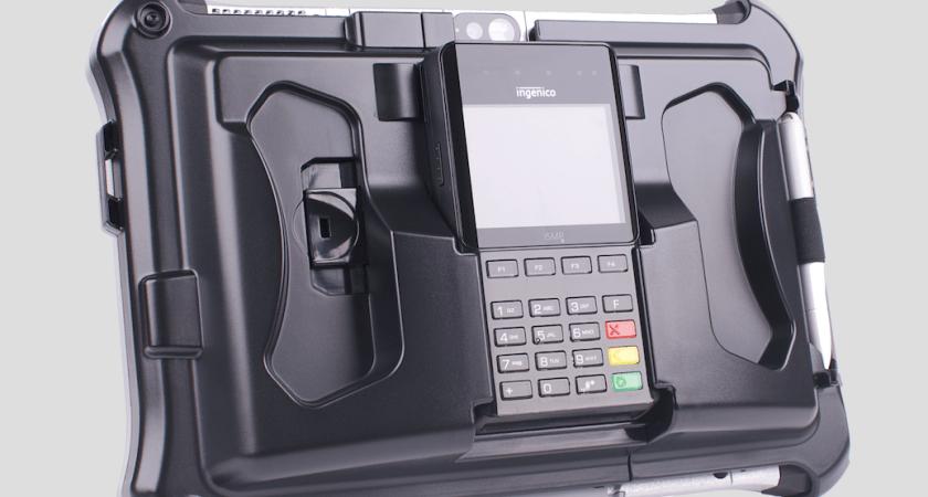 Toughpad FZ-G1 – först ut att integreras med Panasonics nya betalningslösning för robusta enheter