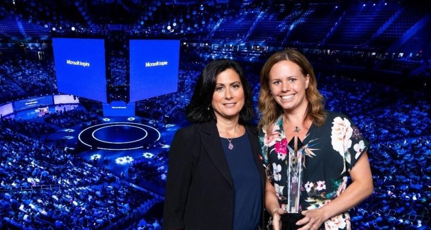 Start Up-företaget Haldor AB utsedda till Microsoft Country Partner of the Year för Sverige, 2018